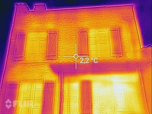 exemple cliché caméra thermique prestation visite thermique